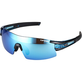 Tifosi Escalate SF Lunettes Homme, crystal blue - clarion blue/ac red/clear